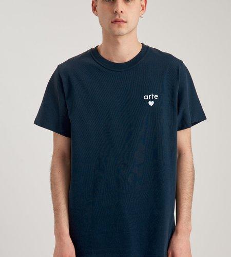 Arte Antwerp Arte Thomas Heart T-Shirt Navy