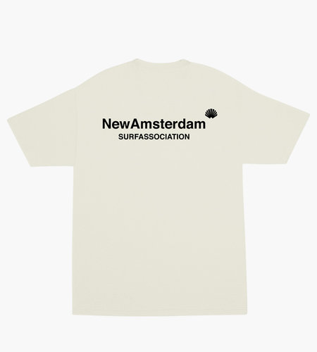 New Amsterdam New Amsterdam Logo T-Shirt Off White