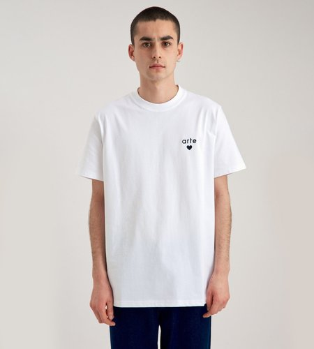 Arte Antwerp Arte Thomas Heart T-Shirt White