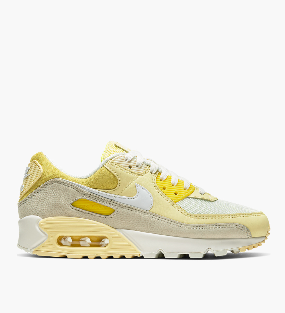 Nike Air Max 90 Opti Yellow White Fossil
