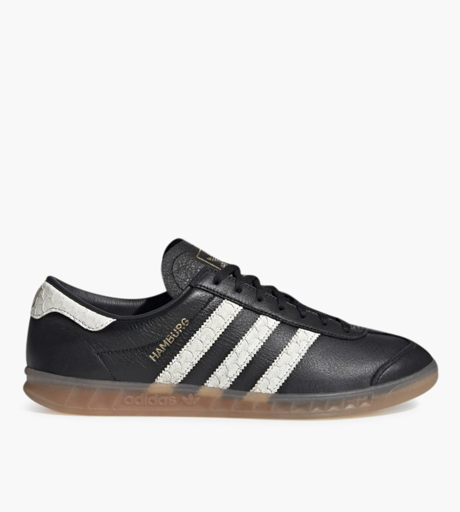 black and red adidas hamburgs cheap online