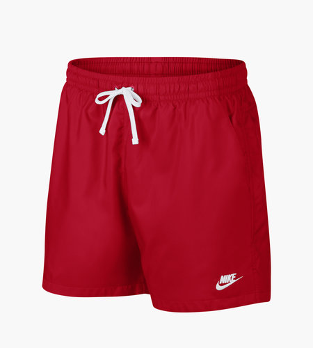 Nike Nike M NSW SCE Woven Flow Shorts University Red White