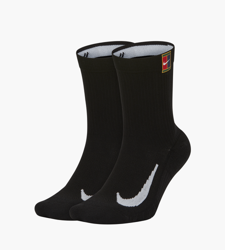 Nike Nike Multiplier Crew 2pr Cush Socks Black Black