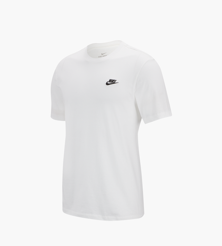 Nike Nike Sportswear Club T Shirt White Black
