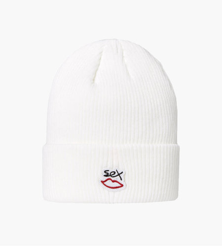 Sex Skateboards Beanie White