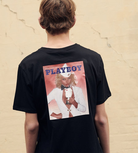 Soulland Soulland Meets Playboy May T-Shirt Black