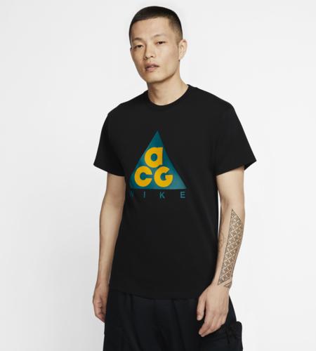 Nike Nike NRG ACG SS Tee Logo Black Bright Spruce