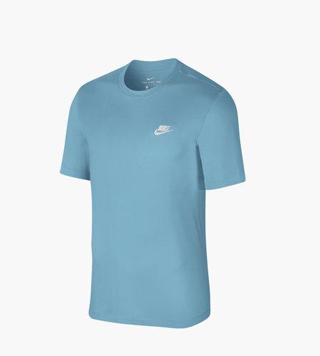 Nike Nike Sportswear Club T Shirt Cerulean White