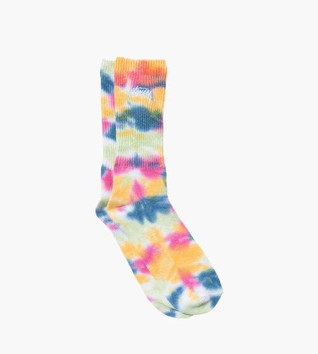 Stussy Stussy Tie Dye Socks Pink