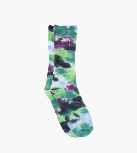 Stussy Stussy Tie Dye Socks Blue