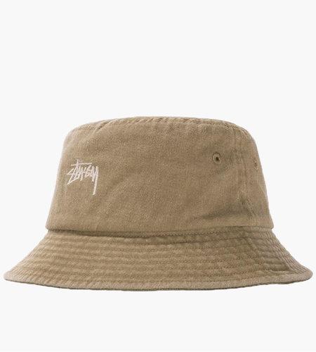 Stussy Stussy Stock Washed Bucket Hat Khaki