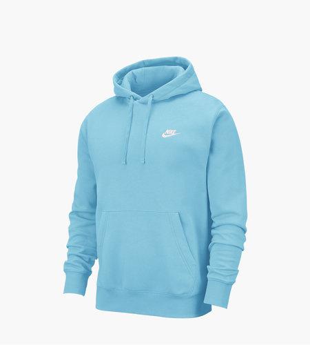 Nike Nike Sportswear Club Hoodie Cerulean White