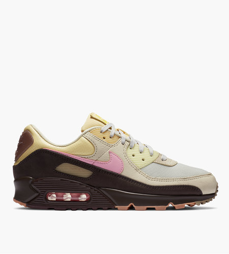 Nike Nike WMNS Air Max 90 Velvet Brown Pink 'Cuban Link'