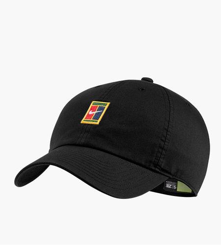 Nike Nike U NikeCourt Heritage86 Court Logo Cap Black