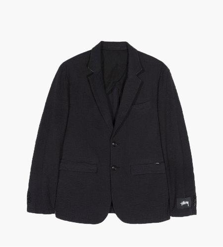 Stussy Stussy Seersucker Sport Coat Black