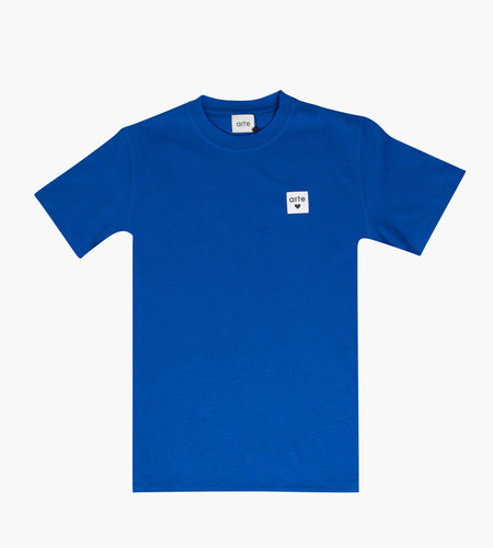 Arte Antwerp Arte Tony Heart Label Tee Royal Blue