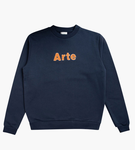 Arte Antwerp Arte Chris Crewneck Sweat Navy