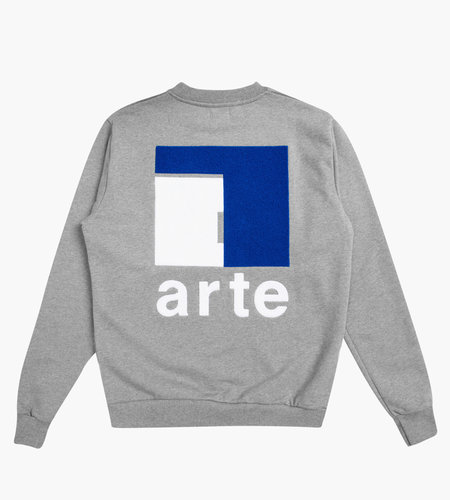 Arte Antwerp Arte Chuck A Back Crewneck Sweat Grey