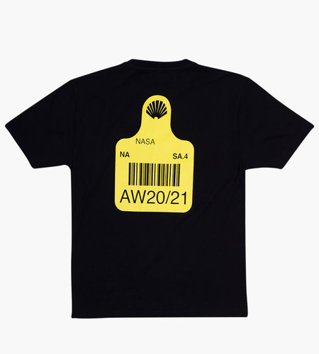 New Amsterdam Surf Association New Amsterdam Tag T-shirt Black