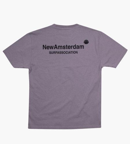 New Amsterdam New Amsterdam Logo T-shirt Gray