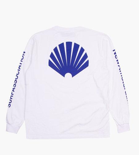 New Amsterdam New Amsterdam Logo Longsleeve White Royal