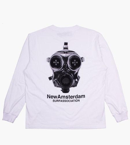 New Amsterdam New Amsterdam Methane Longsleeve White