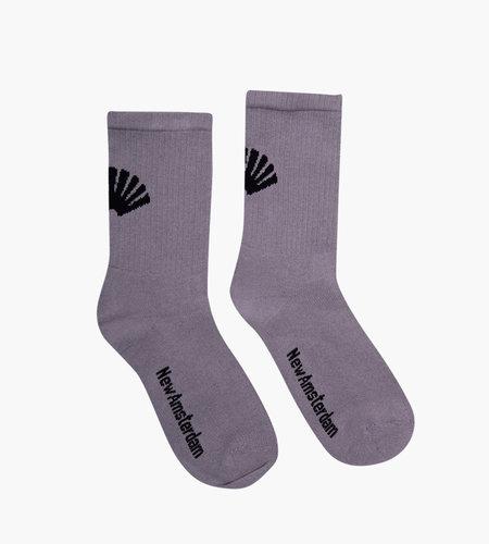 New Amsterdam New Amsterdam Logo Socks Gray