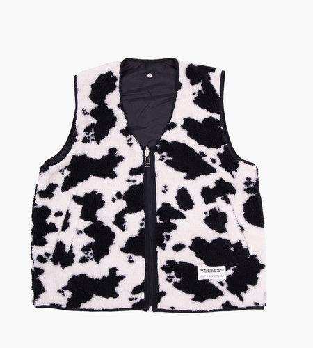 New Amsterdam New Amsterdam Double Up Vest Black Cow