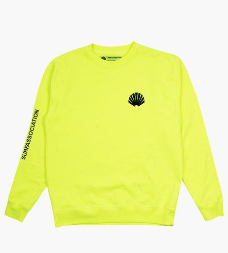 New Amsterdam New Amsterdam Logo Sweater Safety Green