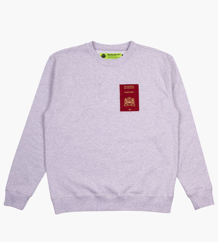 New Amsterdam New Amsterdam Customs Sweater Ash Heather