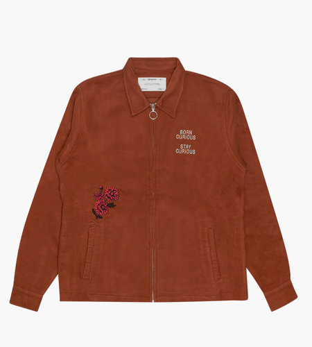 Reception Reception Club Jacket Moleskin Tan