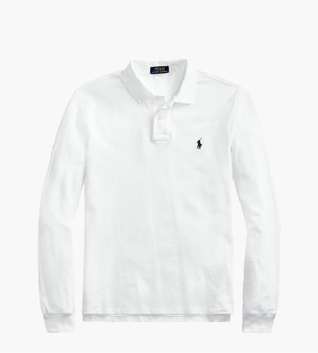 Polo Ralph Lauren Polo Ralph Lauren Long Sleeve Polo White