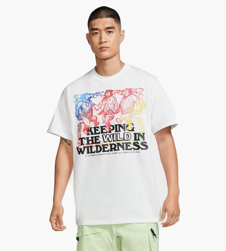 Nike Nike M NRG ACG SS Tee Keepin Wild White Multi Color Black