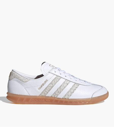 Adidas Adidas Hamburg Cloud White Silver Metallic Grey Two