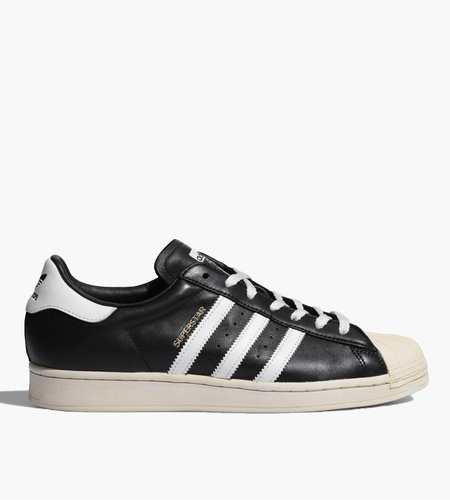 Adidas Adidas Superstar Core Black Crystal White Blue