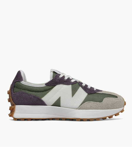 New Balance New Balance 327 Oak Leaf Green with Mystic Purple
