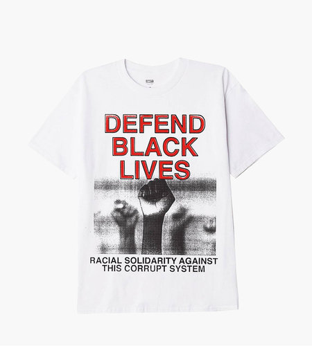 Obey Obey Defend Black Lives 2 T-Shirt White