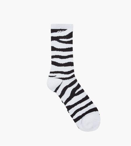 Obey Obey Zebra Socks Black Multi