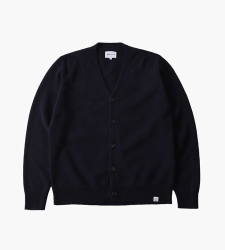 Norse Projects Norse Projects Adam Lambswool Dark Navy