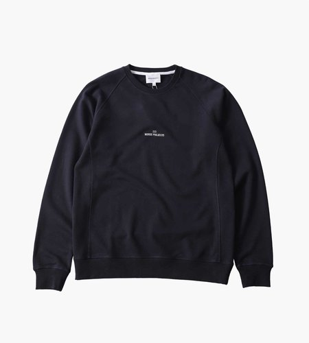 Norse Projects Norse Projects Ketel Norse Projects Wave Logo Dark Navy
