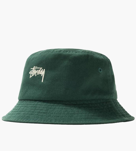 Stussy Stussy Stock Bucket Hat Green