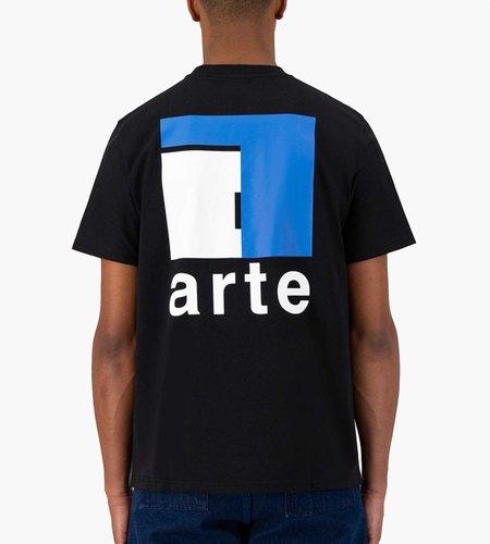Arte Antwerp Arte Toby A Back Black Tee