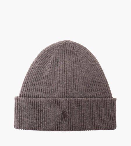 Polo Ralph Lauren Polo Ralph Lauren Loryelle Wool Hat Fawn Grey Heather