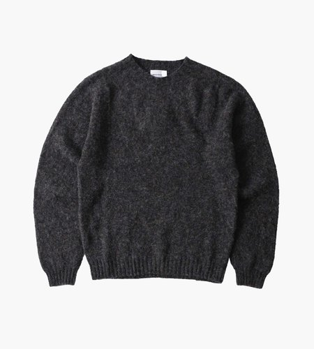 Norse Projects Norse Projects Birnir Brushed Lambswool Charcoal  Melange