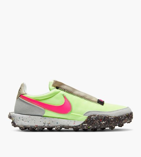 Nike Nike Waffle Racer Crater Barely Volt Pink Blast Black