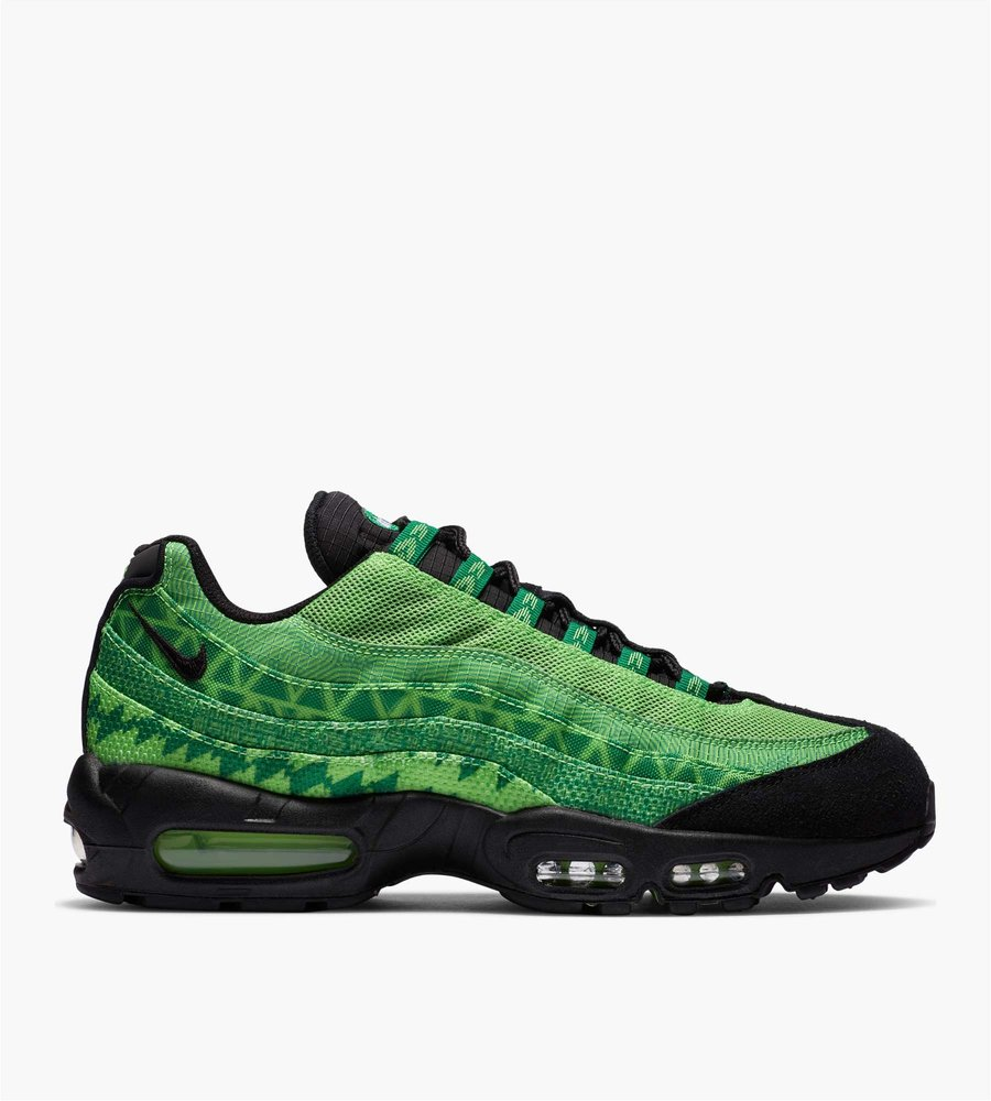 air max 95 black and lime green