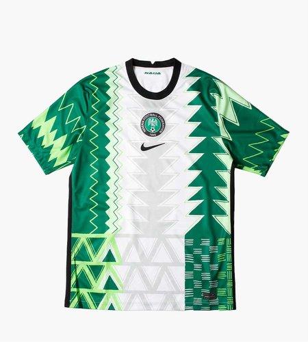 Nike Nike Nigeria 2020 Stadium Home Jersey White Black