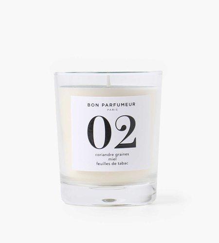 Bon Parfumeur Bon Parfumeur Candle 02 Coriander Seed Honey Tobacco Leaf
