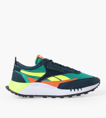 Reebok Reebok CL Legacy Mineral Blue Court Green Solar Yellow
