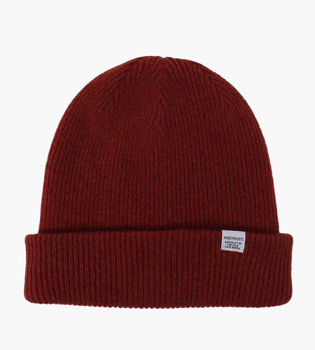 Norse Projects Norse Projects Norse Beanie Carmine Red